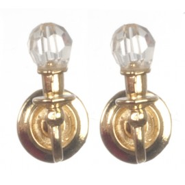 Nástěnné lampy, set 2ks, nefunkční