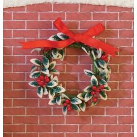 Vánoční věnec ( na dveře)
