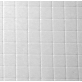 Bílá embosovaná dlažba