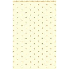 Vzor lilie zlatá/slonovina, velikost A3