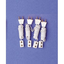 Prodlužovací drát (zástrčka a zásuvka), 4ks