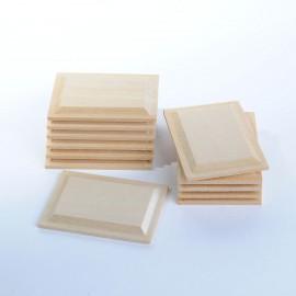 Dřevěné obkladové panely, obdelník, 12ks