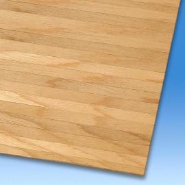 Prkenná podlaha z dřevěné dýhy