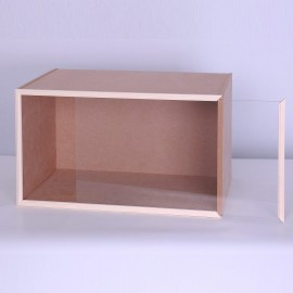 MDF modul (místnost) se sklem