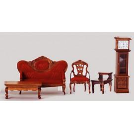 Viktroiánský nábytek, set 5ks