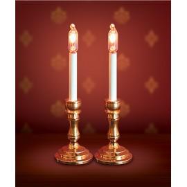 Dvě svítící svíčky