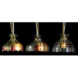 Tiffany stropní lampa, 12V