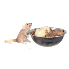 Myš s myskou brambor