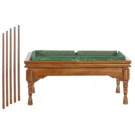 Stůl pro billiard a 4 tága