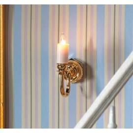 Nástěnné osvětlení svíčka
