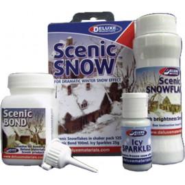Sníh - prašan, hmota na výrobu
