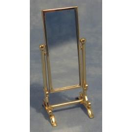 Zrcadlo velké, zlatý rám