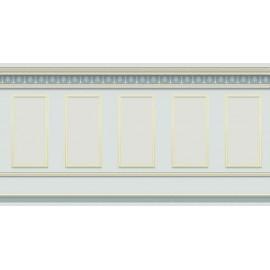 Šedá tepeta vzor panely, velikost A2