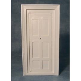 Bílé plastové dveře (rozměr otvoru pro okno)