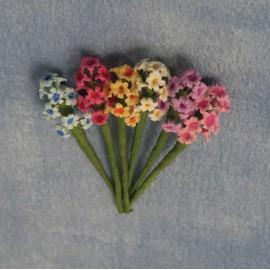 Pugety květin, 6 ks