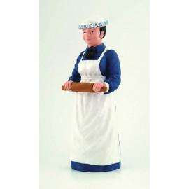 Kuchařka s válečkem