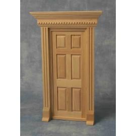 Dveře s rámem, bez povrchové úpravy