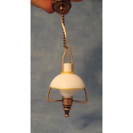 Stropní olejová lampa, baterie