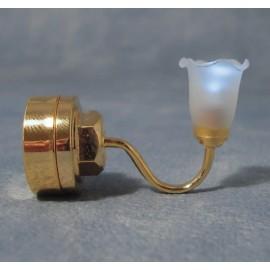 Nástěnné jednoramenné světlo, baterie
