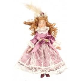 Figurka viktoriánský dívka