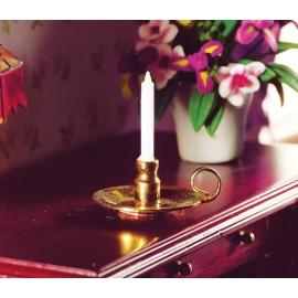 Svícen se svíčkou