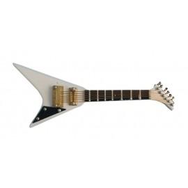 Bílá Jacksnova kytara