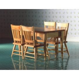 Stůl a 4 židle