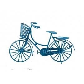 Modré dámské kolo