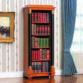 Otevřená knihovna ve stylu Biedermeier