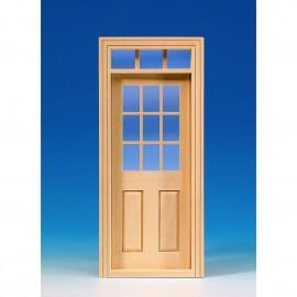 Dveře s oknem do otvoru