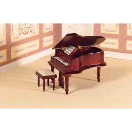 Klavír se stoličkou