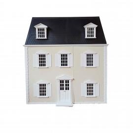 Viktoriánský žlutý domeček
