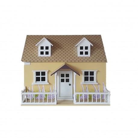 Malý žlutý domeček