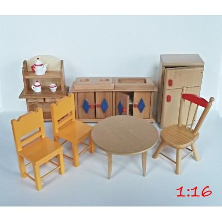 Sada nábytku -kuchyně, 1:16, nová