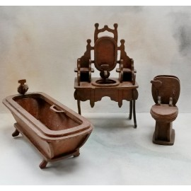 Koupelna 1:12, skládaný nábytek
