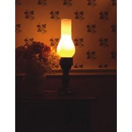 Stolní lampa, petrolejka