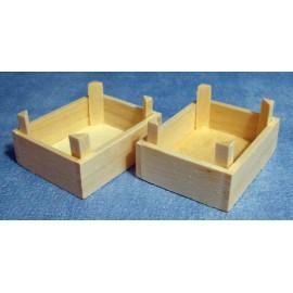 Dřevěná přepravka, 2ks