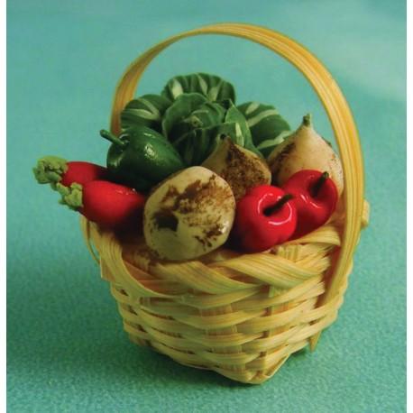 Koš se zeleninou