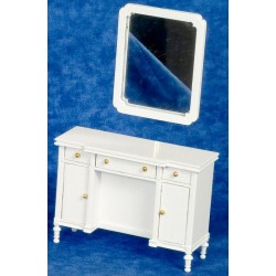 Toaletní stolek se zrcadlem
