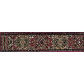 Schodišťový koberec Red/Green 5 x 50cm