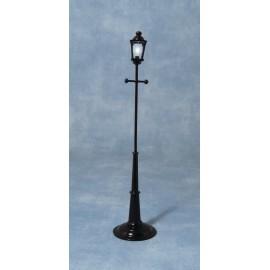Pouliční LED lampa, bateriová