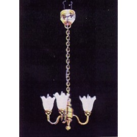 Tříramenný stropní lustr