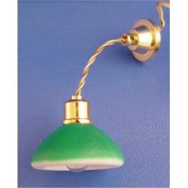 Zelené závěsné světlo