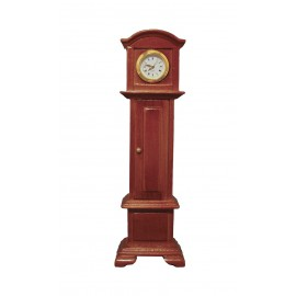 Stojací hodiny (funkční), dub