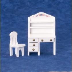Pracovní stůl s židlí 1:24