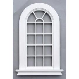 Plastové bílé okno