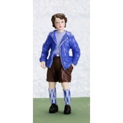 Chlapec v šortkách
