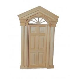 Luxusní venkovní dveře, bez povrchové úpravy