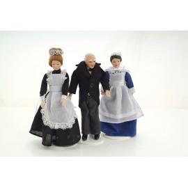 Viktoriánské služebnictvo, 3 postavy