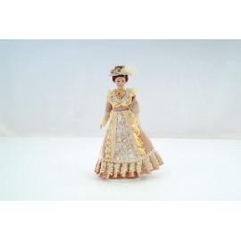Victorian Lady béžové šaty